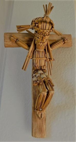 Christ en paille