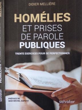 Couverture Homélies+Prise de Parole Publ. page 1
