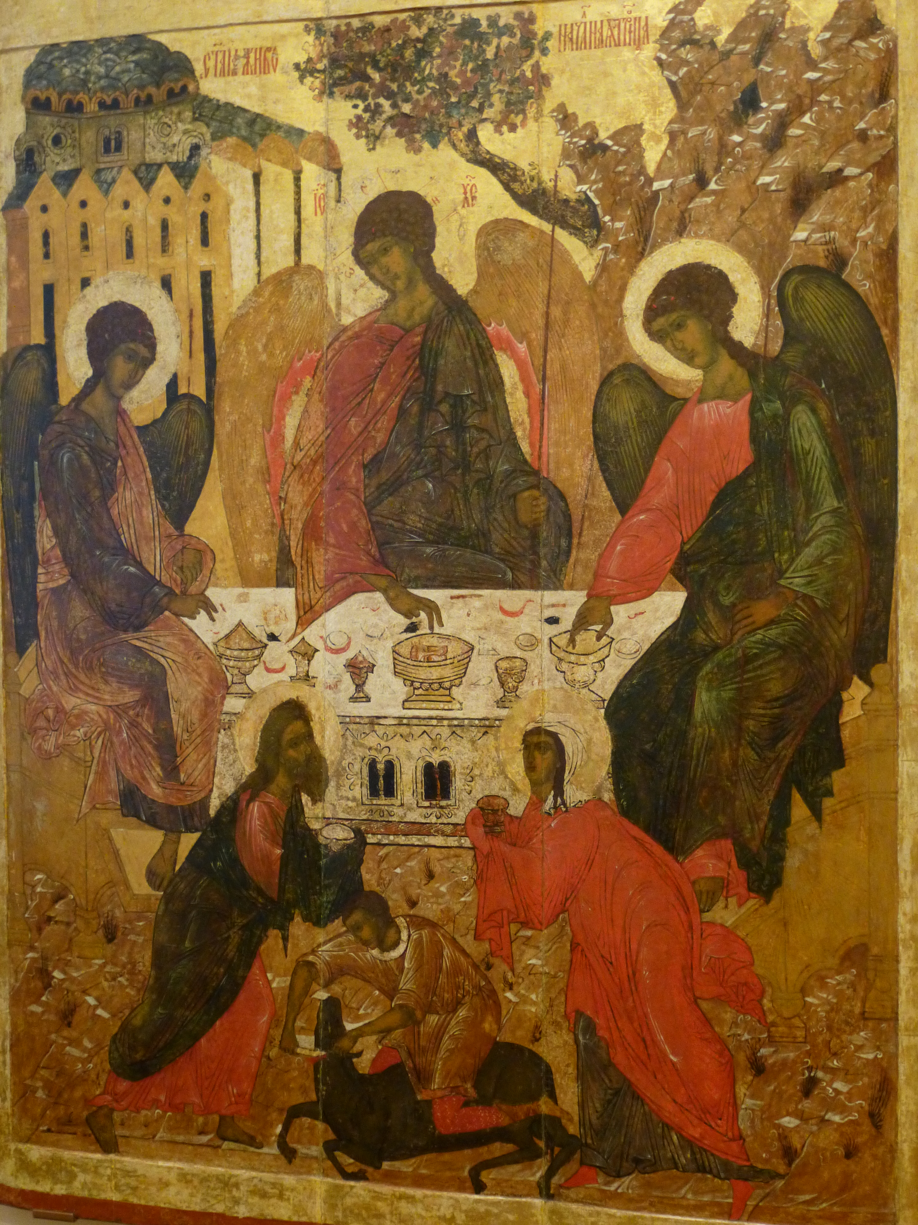 Trinité A Roublev Novgorod